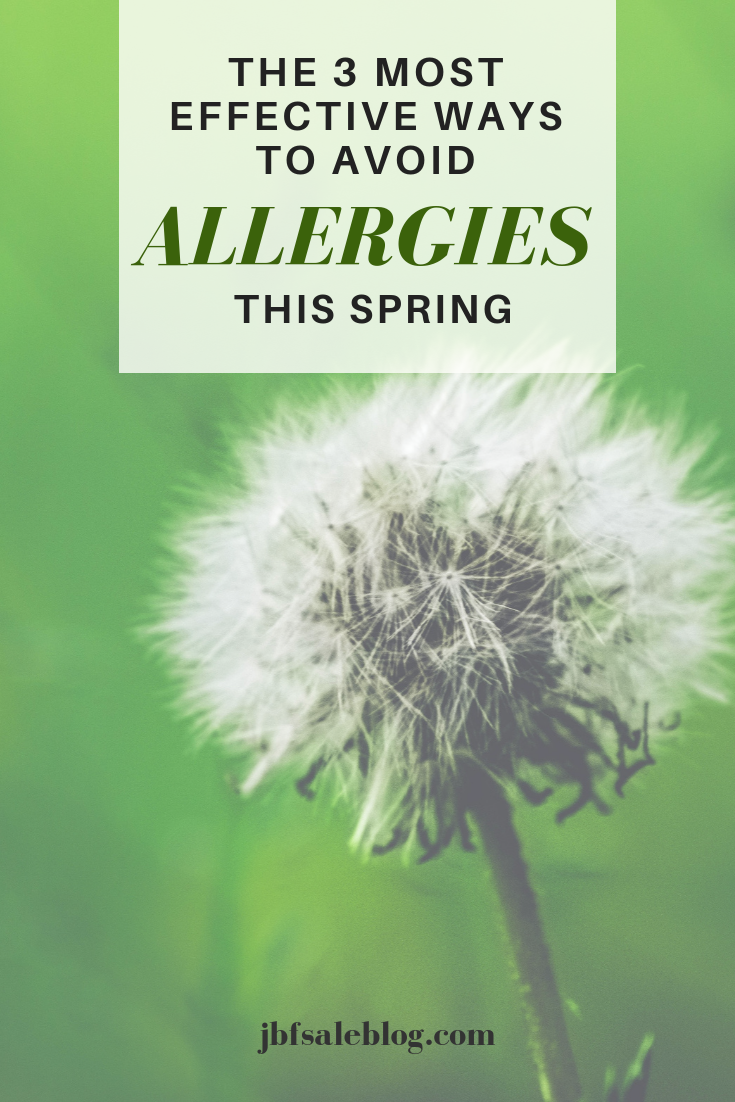 The 3 Most Effective Ways to Avoid Allergies This Spring