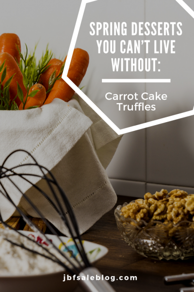 Spring Desserts You Can't Live Without: Carrot Cake Truffles